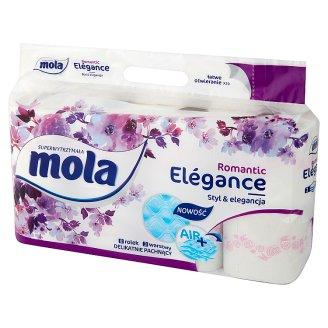 Mola Elégance Cherry Blossom Toilet Paper 8 Rolls