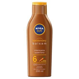 NIVEA Sun Karotenowy balsam do opalania SPF 6 200 ml