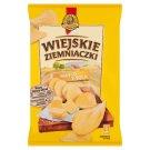 Wiejskie Ziemniaczki o smaku masła z solą Chipsy ziemniaczane 130 g