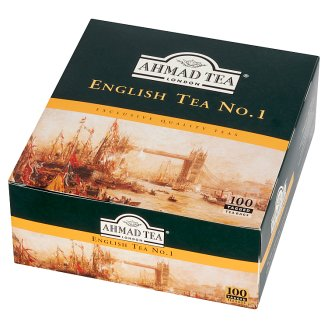 Ahmad Tea English Tea No. 1 Black Tea 200 g (100 Tea Bags)