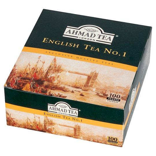 Ahmad Tea English Tea No. 1 Black Tea 200 g (100 Tea Bags)