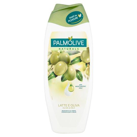 Palmolive Naturals Olive & Milk Kremowy żel pod prysznic i do kąpieli 500 ml