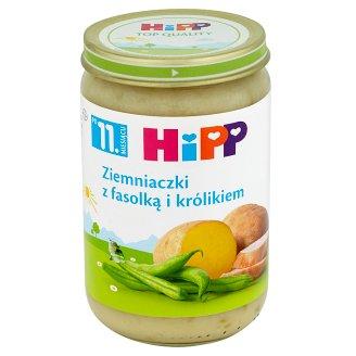 HiPP Ziemniaczki z fasolką i królikiem po 11. miesiącu 220 g