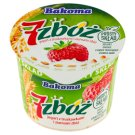 Bakoma 7 zbóż Yoghurt with Strawberry and Cereal Grains 300 g
