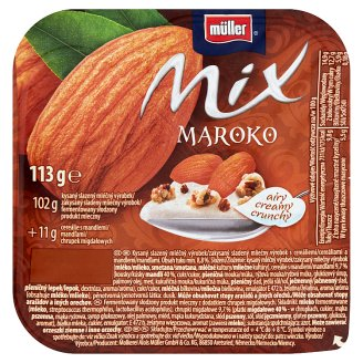 Müller Mix Morocco Sweetened Milk Product with Cereals and Almonds 113 g