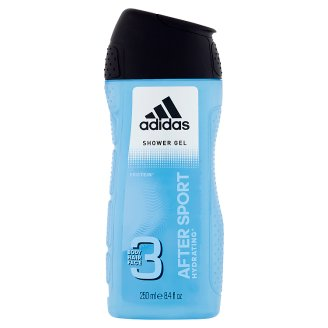 Adidas After Sport 3 Body Hair and Face Shower Gel 250 ml