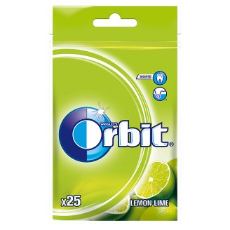 Orbit Lemon Lime Sugarfree Chewing Gum 35 g (25 Pieces)