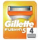 Gillette Fusion Ostrza wymienne do maszynki do golenia, 4 sztuki