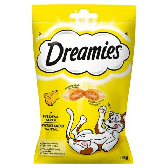 Dreamies Supplementary Food with Delicious Cheese 60 g