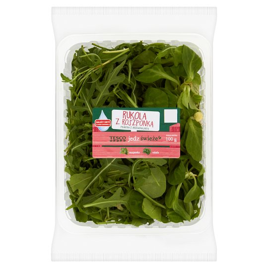Tesco Rocket Salad with Lamb's Lettuce 100 g