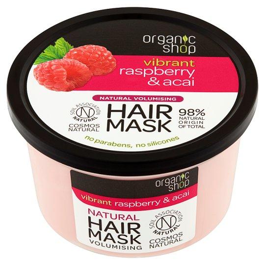 Organic Shop Maska nadająca objętość malina & acai 250 ml