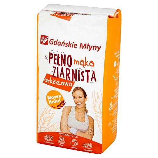 Gdańskie Młyny Mąka pełnoziarnista orkiszowa 1 kg