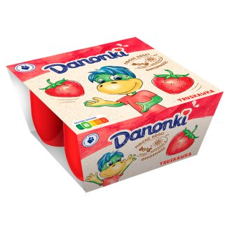 Danone Danonki Strawberry Cottage Cheese 200 g (4 x 50 g)