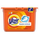 Vizir Washing Capsules Alpine Fresh Triple Action: Cleans Deep, Removes Stains & Brightens 15 Washes