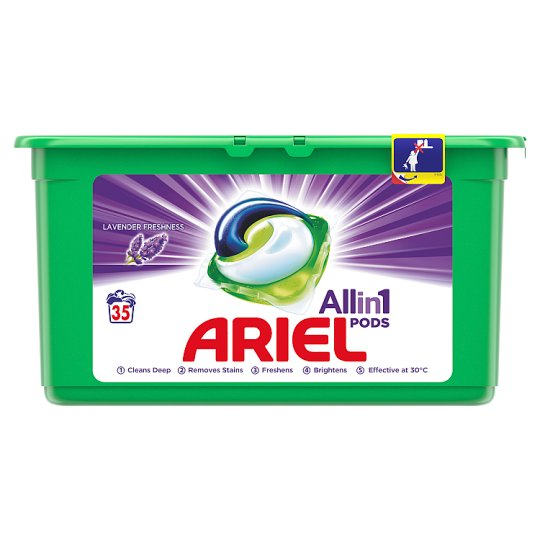 Ariel Lavender 3 w 1 Kapsułki do prania, 35prań