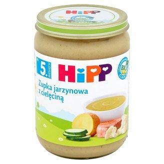 HiPP BIO Zupka jarzynowa z cielęciną po 5. miesiącu 190 g