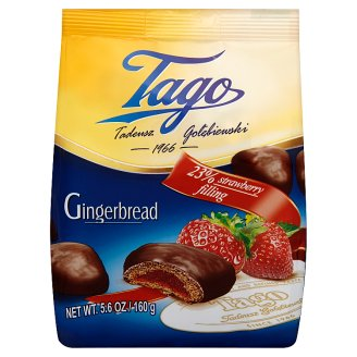 Tago Gingerbreads with Strawberry Filling 160 g