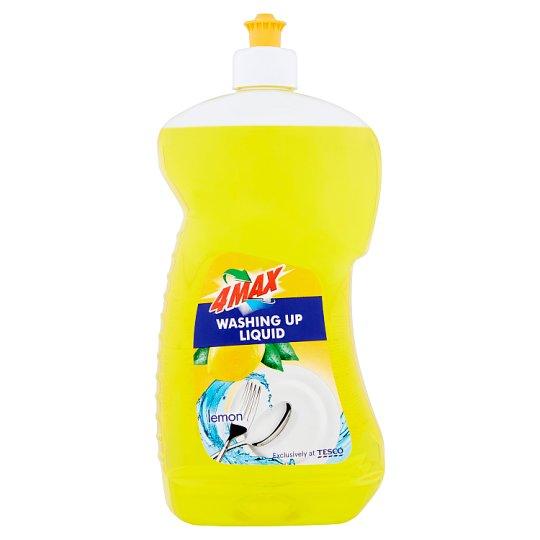 4MAX Lemon Płyn do mycia naczyń 1 l