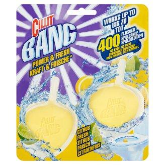 Cillit Bang Citrus Fresh Toilet Block 2 x 40 g