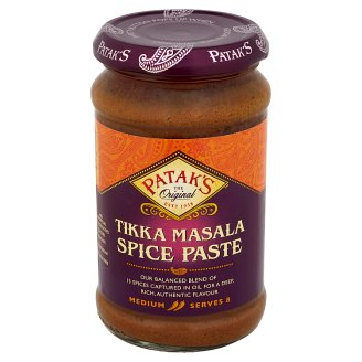 Patak's Średnio-pikantna pasta do indyjskiego Tikka Masala 283 g