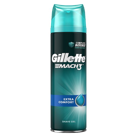 Gillette Mach3 Extra Comfort Men's Shaving Gel 200ml