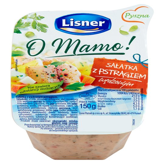Lisner O Mamo! Salad with Smoked Trout 150 g