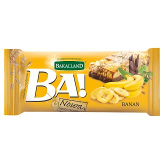 Bakalland Ba! Banana Cereal Bar 40 g