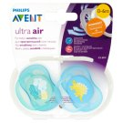 Avent Ultra Air Soother 0-6 Months 2 Pieces