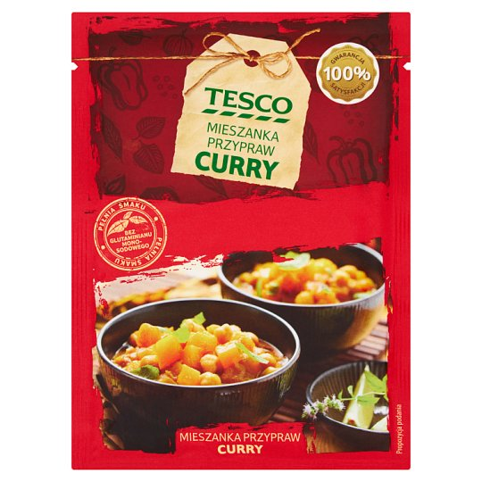 Tesco Curry Seasoning Mix 25 g