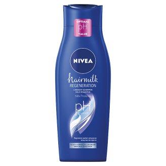NIVEA Hairmilk Mleczny szampon pielęgnujący do włosów o strukturze normalnej 400 ml
