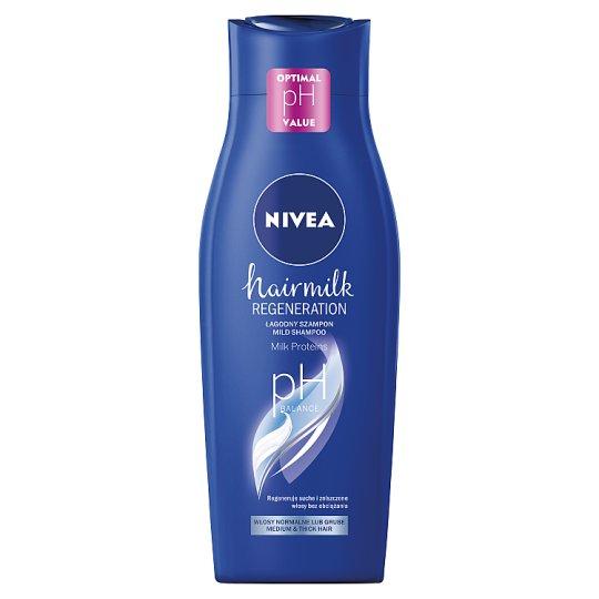 NIVEA Hairmilk Normal Hair Structure Care Milk Shampoo 400 ml