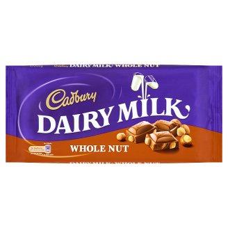 Cadbury Czekolada mleczna z orzechami laskowymi 200 g