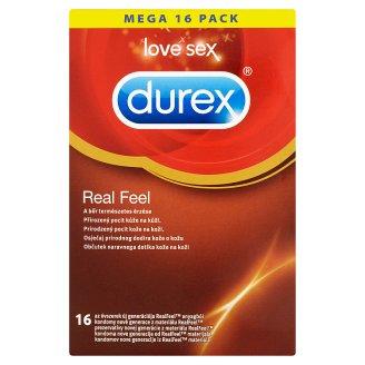 Durex Real Feel prezervatívy 16 ks