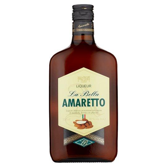 Amaretto La Bella likér s mandľovou arómou 18 % 700 ml
