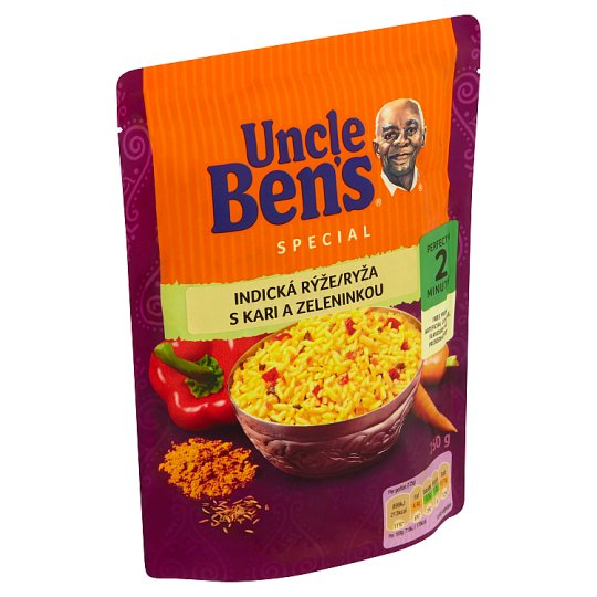 Uncle Ben's Special Indian Rice with Curry and Vegetables 250 g