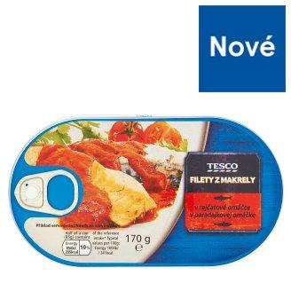 Tesco Filety z makrely v paradajkovej omáčke 170 g