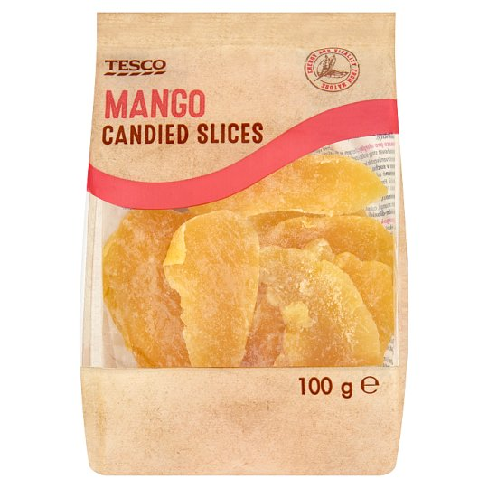 Tesco Mango Candied Slices 100 g