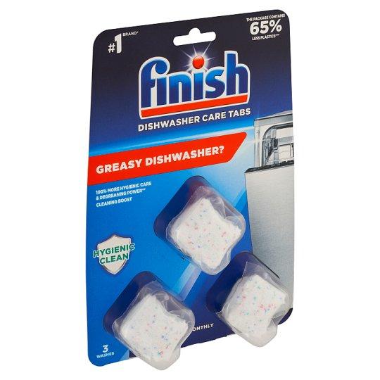 Finish Kapsuly na čistenie umývačky 3 x 17 g