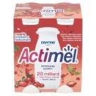 Danone Actimel Yoghurt Milk Rosehip & Cranberry & Redcurrant 4 x 100 g