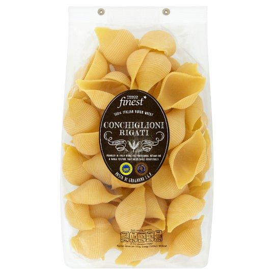 Tesco Finest Conchiglioni Rigati Egg-Free Semolina Pasta 500 g