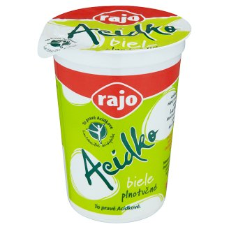 Rajo Acidko Sour Milk White Full Fat 250 g
