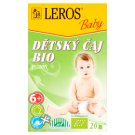 Leros Baby Bio detský čaj bylinný 20 x 2 g