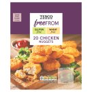 Tesco Free From Pre-Fried Breaded Chicken Pieces 400 g