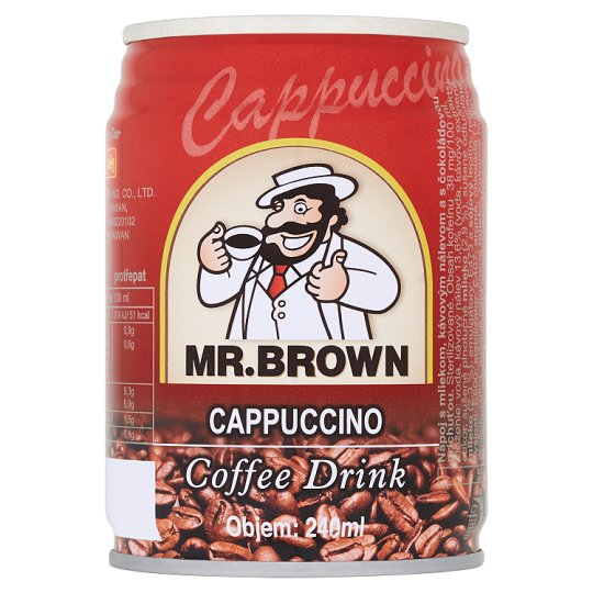 Mr. Brown Cappuccino Coffee Drink 240 ml