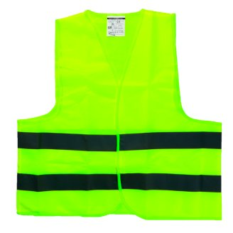 Bottari High Visibility Warning Vest Polyester Yellow