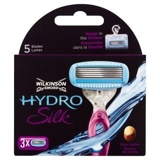 Wilkinson Sword Hydro Silk Shea Butter 5-čepeľová hlavica 3 ks
