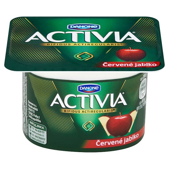 Danone Activia Yoghurt Red Apple 120 g