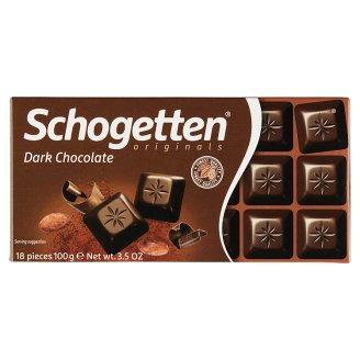 Schogetten Tmavá čokoláda 100 g