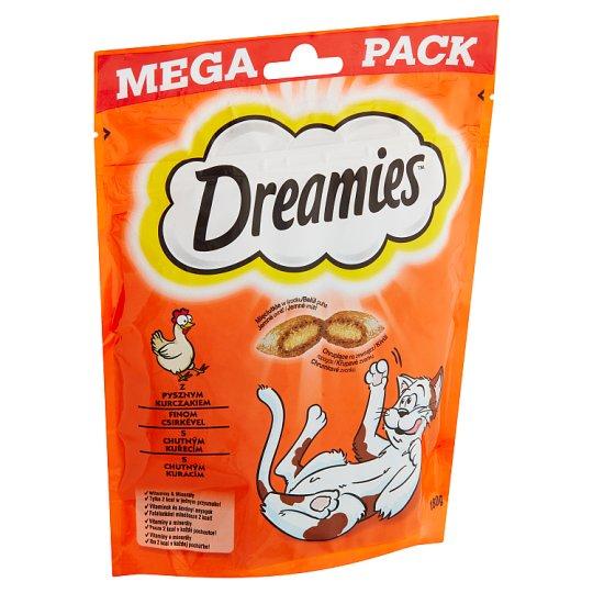 Dreamies S vynikajúcim kuracím mäsom 180 g