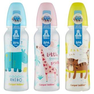 Canpol Babies Dojčenská fľaša 250 ml